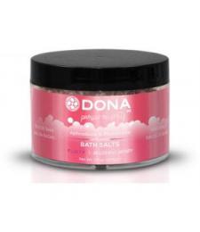 Соль для ванны DONA Flirty Blushing Berry - 215 гр.