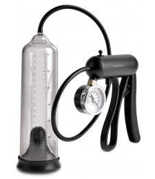 Вакуумная мужская помпа с датчиком давления Pro-Gauge Power Pump