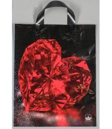Полиэтиленовый пакет  Рубин  - 35 х 28 см.