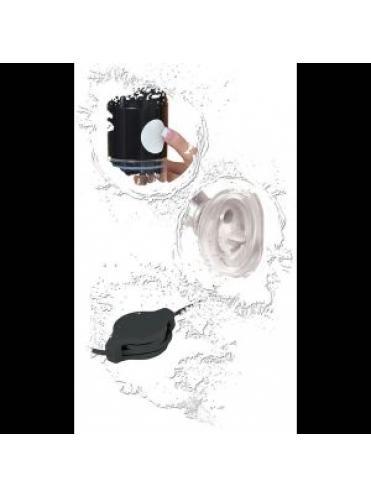 Универсальная женская помпа с вибратором Clit N  Tit Power Pump