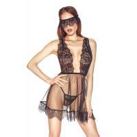 Сексуальная прозрачная сорочка Venetia с кружевом