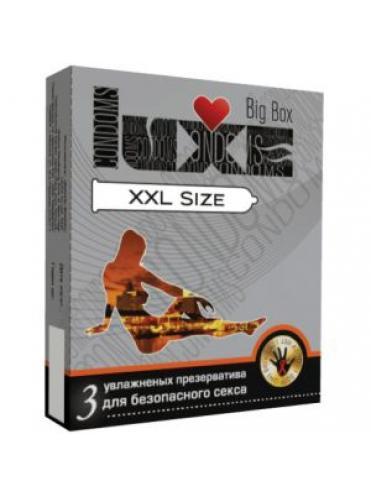 Презервативы большого размера LUXE Big Box XXL size - 3 шт.