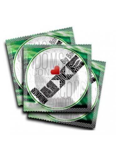 Презервативы LUXE Big Box Assorted с различным рельефом - 3 шт.