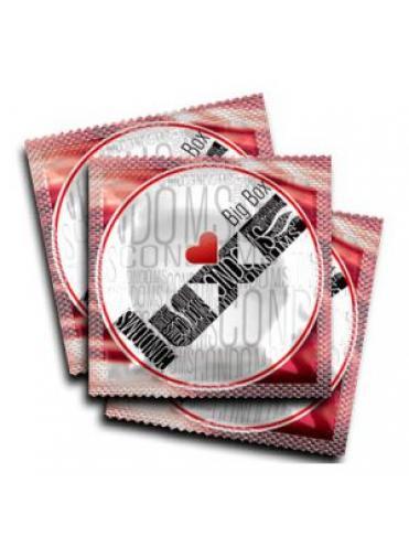 Ребристые презервативы LUXE Big Box Sex machine - 3 шт.