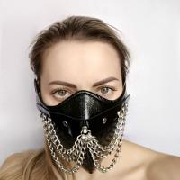Чёрная маска на нижнюю часть лица  Шахерезада