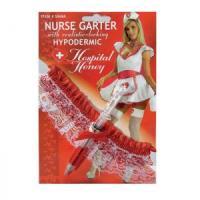 Подвязка медсестры со шприцом