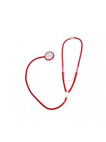 Стетоскоп красного цвета