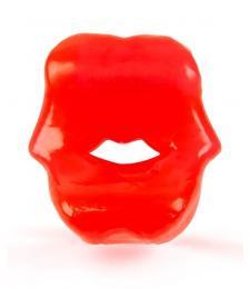 Красное эрекционное кольцо в виде губ