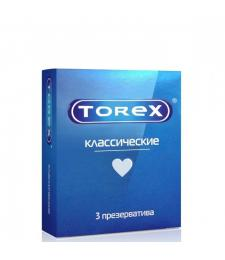 Гладкие презервативы Torex  Классические  - 3 шт.