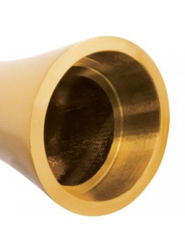 Золотистый алюминиевый вибратор GOLD SMALL - 7,5 см.