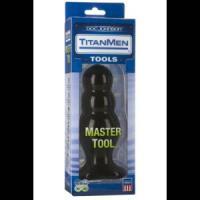Анальный стимулятор Titanmen Tools - Master Tool #4 - 16,76 см.