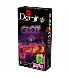 Ароматизированные презервативы DOMINO  Фруктовый слот  - 6 шт.