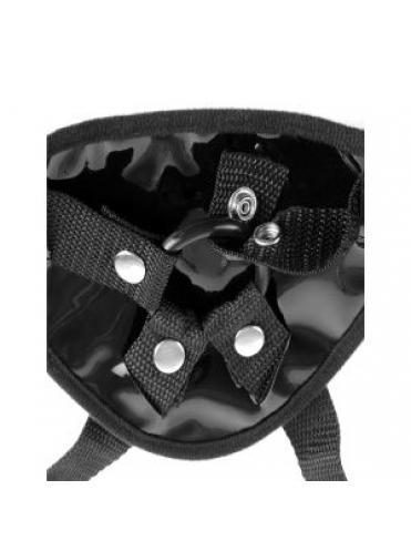 Женские трусики для страпона Garter Belt Harness с креплением для чулок