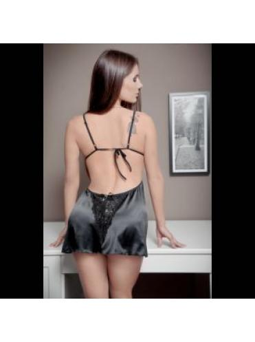 Прелестная сорочка Nikki с открытой спинкой