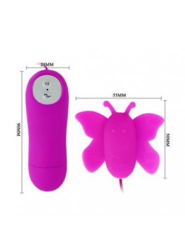 Силиконовая бабочка Mini Love Egg для массажа клитора