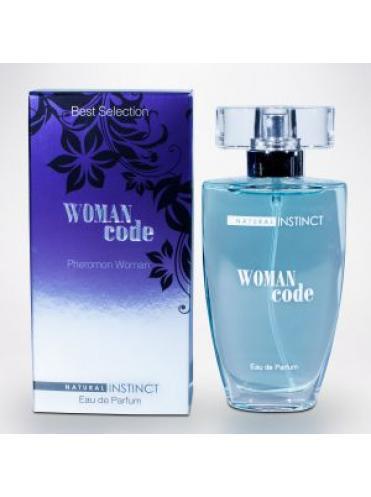 Женские духи с феромонами Natural Instinct Woman Code - 50 мл.