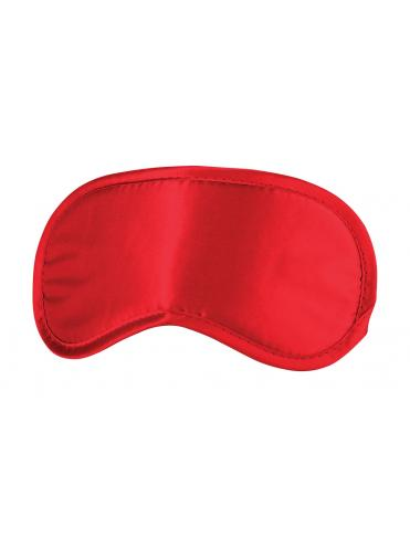Красная плотная маска для сна и любовных игр
