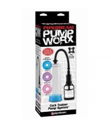 Вакуумная помпа Pump Worx Cock Trainer Pump System с цветными вставками