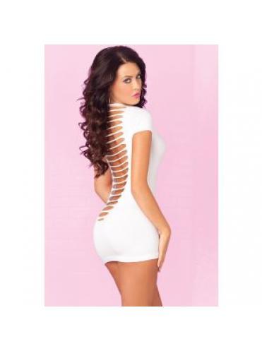 Облегающее мини-платье с разрезами на спинке PARTY IN THE BACK MINI DRESS