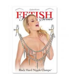 Зажимы для сосков Rock Hard Nipple Clamps