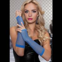 Длинные ажурные перчатки