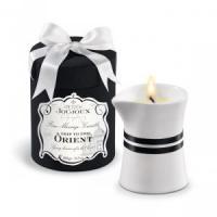 Массажное масло в виде большой свечи Petits Joujoux Orient с ароматом граната и белого перца