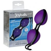 Фиолетовые вагинальные шарики Joyballs secret