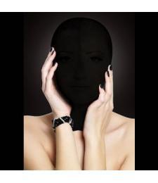 Закрытая черная маска на лицо Subjugation