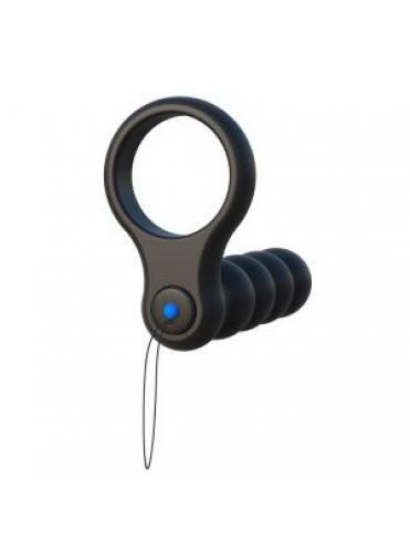 Эрекционное кольцо с анальным вибратором и пультом ДУ