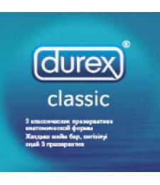 Классические презервативы Durex Classic - 3 шт.