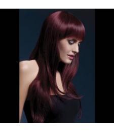 Вишнёвый парик Sienna