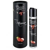 Массажное масло с ароматом личи Huile de Massage Gourmande Litchi - 59 мл.