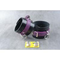 Чёрно-фиолетовые не подшитые наножники