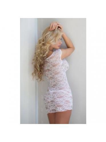 Кружевная сорочка-платье на замочке Linley