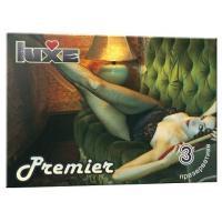 Презервативы Luxe Premier - 3 шт.