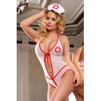 Костюм медсестры: боди и головной убор