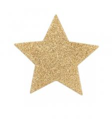 Золотистые пэстисы-звёздочки