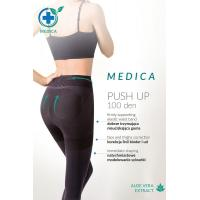 Утягивающие и корректирующие силуэт колготки Medica Push Up 100 den