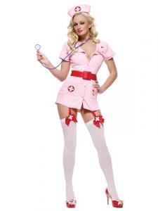 Розовый костюм похотливой медсестры Le Frivole